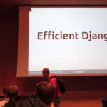 'Efficient Django' en la EuroPython 2016